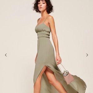 Reformation TUDOR SAGE dress